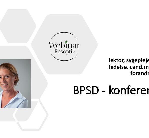 BPSD-konference
